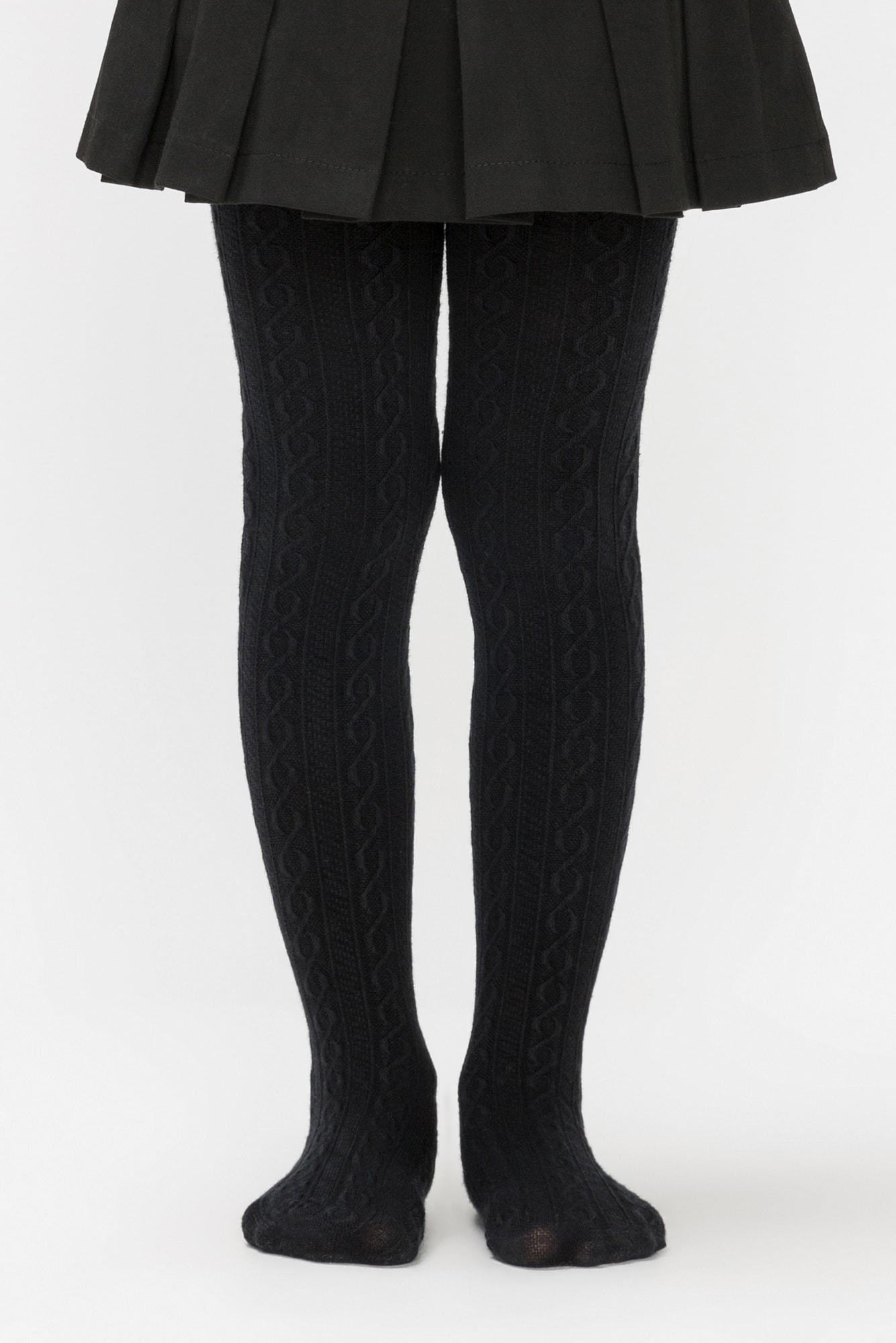 پنتی | Penti - جوراب شلواری دخترانه طرح Karina رنگ مشکی