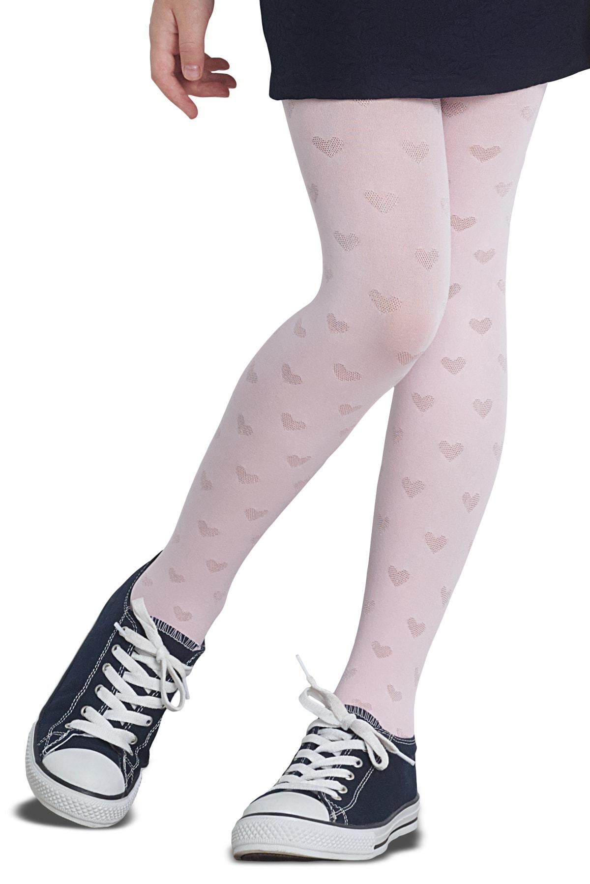 پنتی | Penti - جوراب شلواری دخترانه طرح Merla رنگ سفید