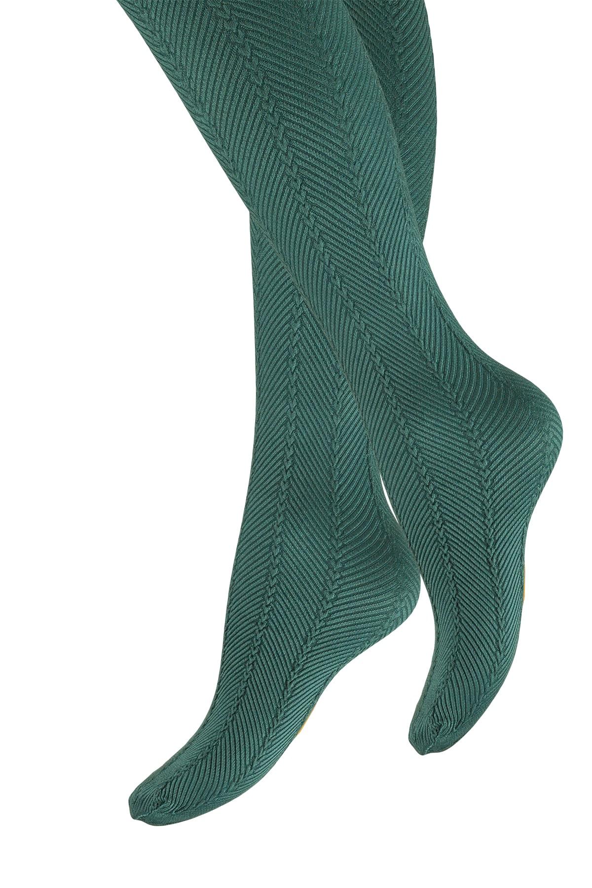 پنتی | Penti - جوراب شلواری دخترانه طرح Mira رنگ زمردی