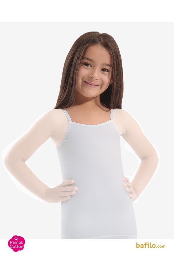 اوزتاش | öztaş - زیرپوش نخی راحتی دخترانه اوزتاش  A-4010 سفید