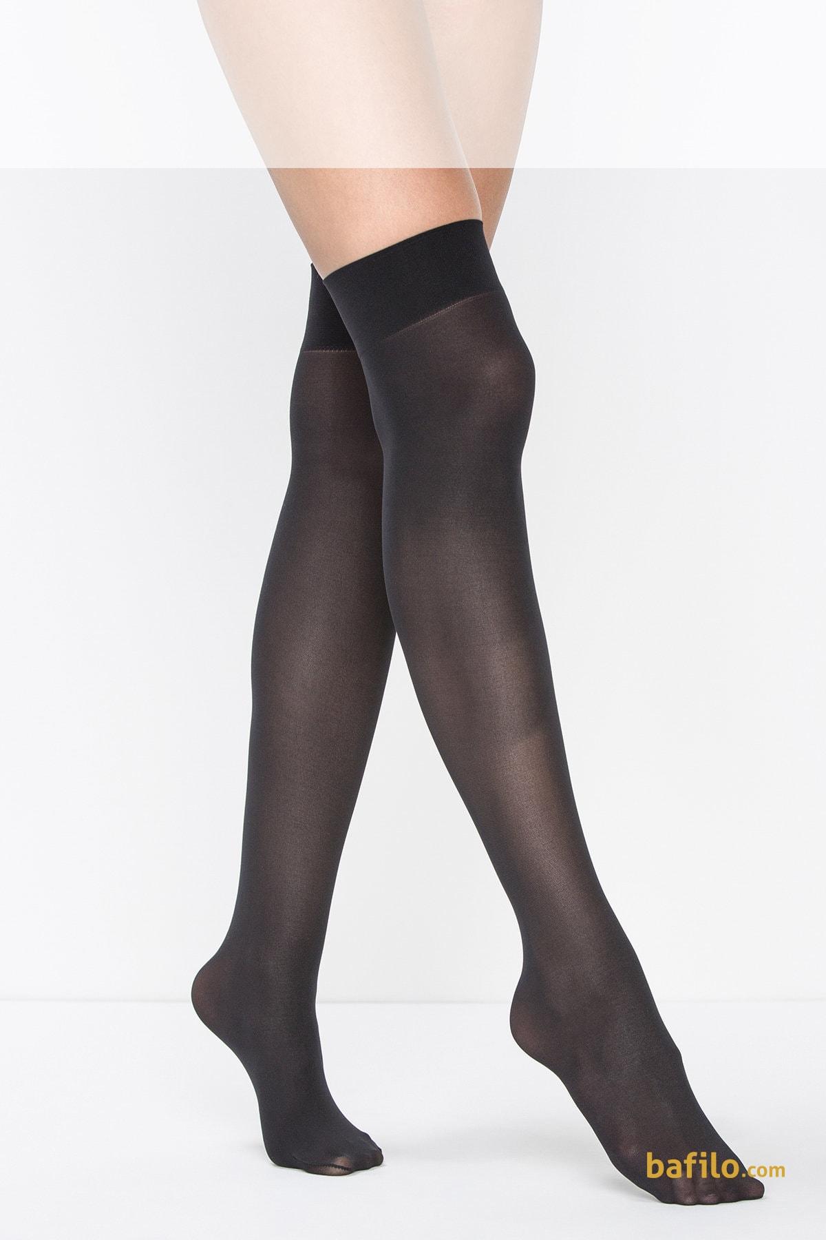 پنتی | Penti - جوراب بالای زانو زنانه پنتی  Mikro 40 مشکی