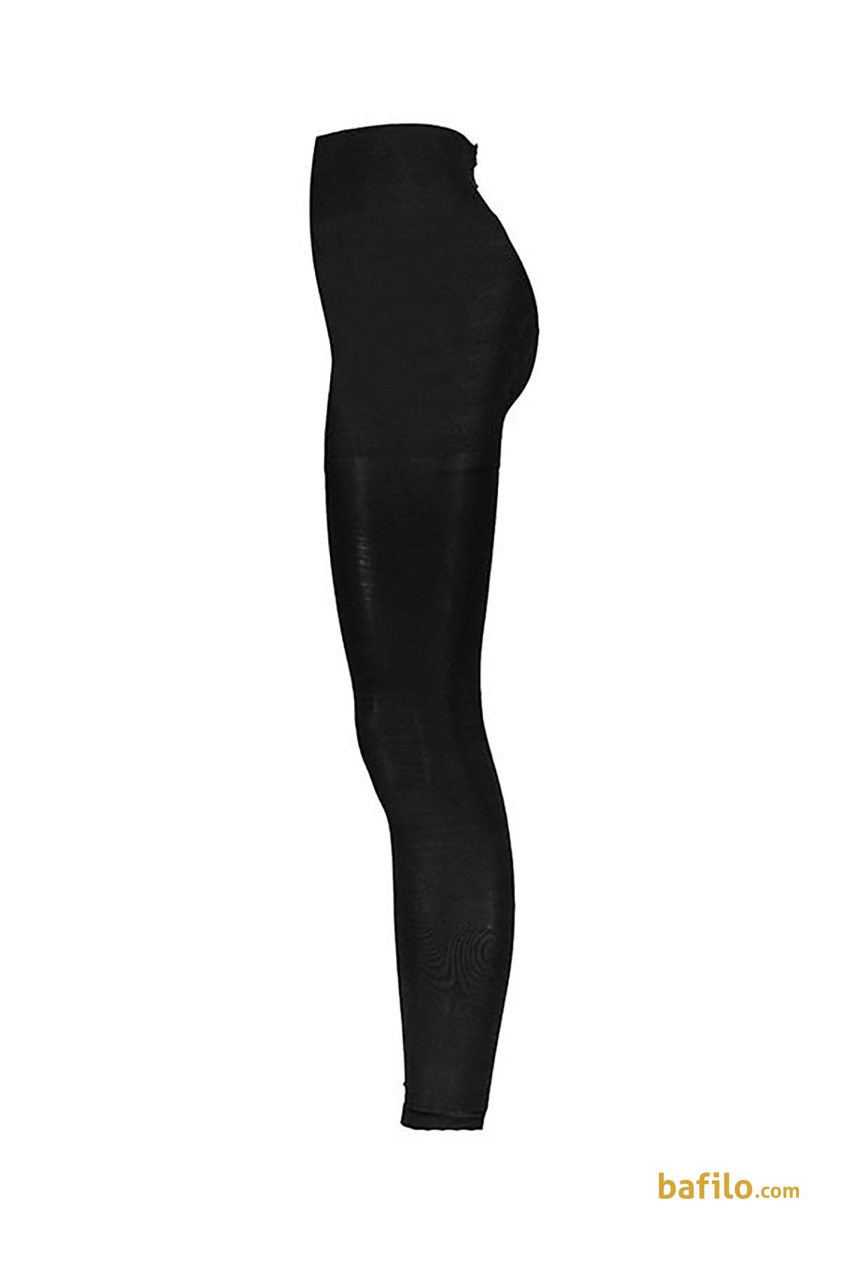 لگینگ ضخیم براق زنانه ایتالیانا Micro 200 - مشکی