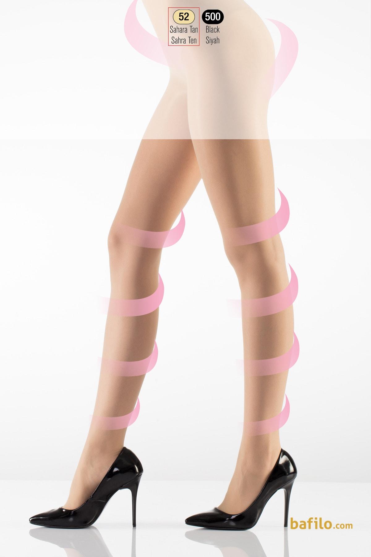 جوراب شلواری گن دار زنانه ایتالیانا Light Support - رنگ بدن صحرا