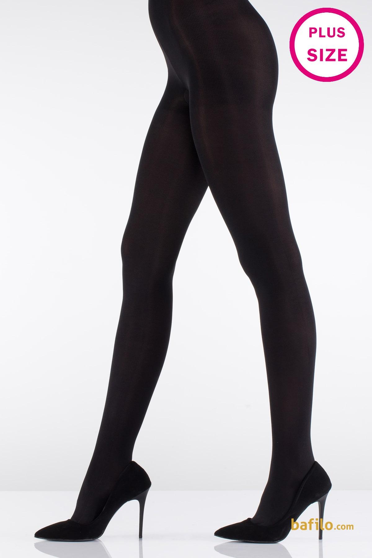 ایتالیانا | ITALIANA - جوراب شلواری سایز بزرگ زنانه ایتالیانا Micro 70 - مشکی