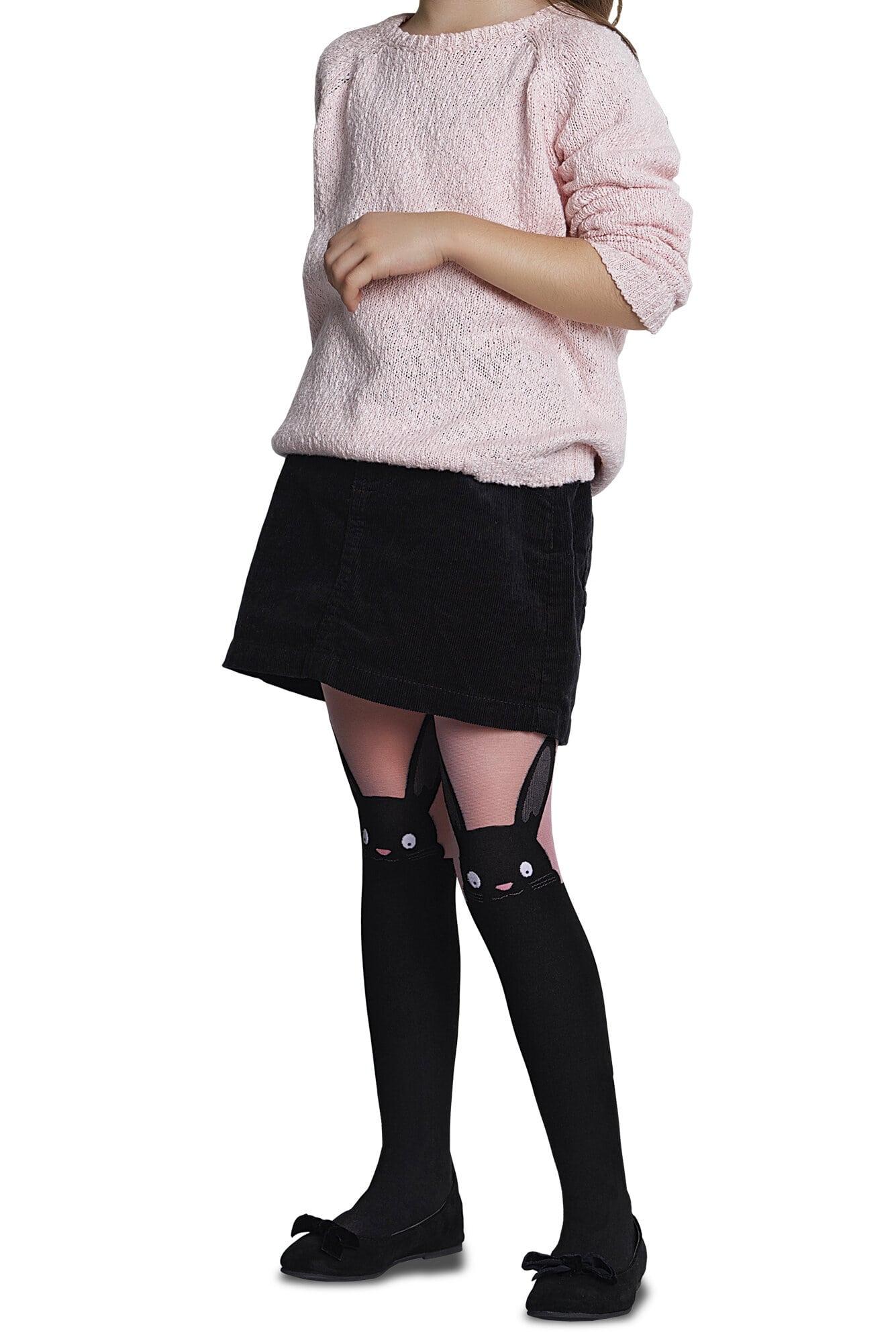 پنتی | Penti - جوراب شلواری طرحدار دخترانه پنتی Bunny صورتی