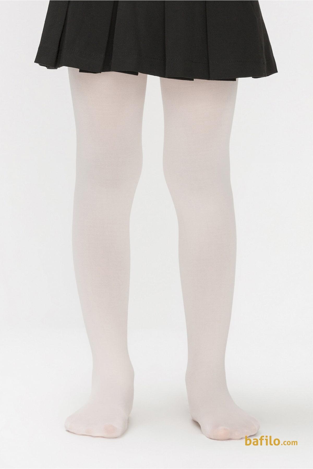 پنتی | Penti - جوراب شلواری ساده دخترانه پنتی Mikro 40 - وانیلی