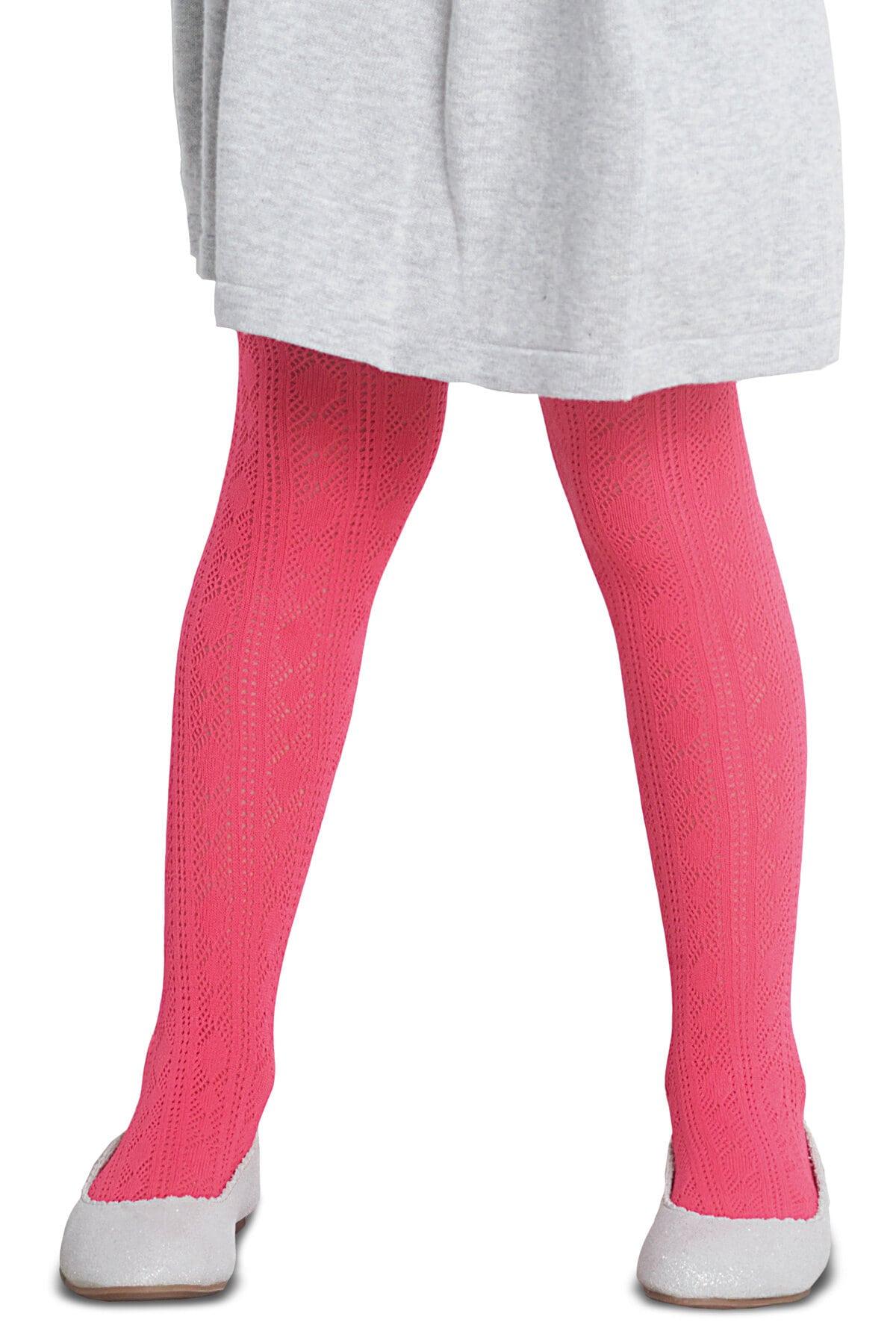 پنتی | Penti - جوراب شلواری طرحدار دخترانه پنتی Elena گلبهی