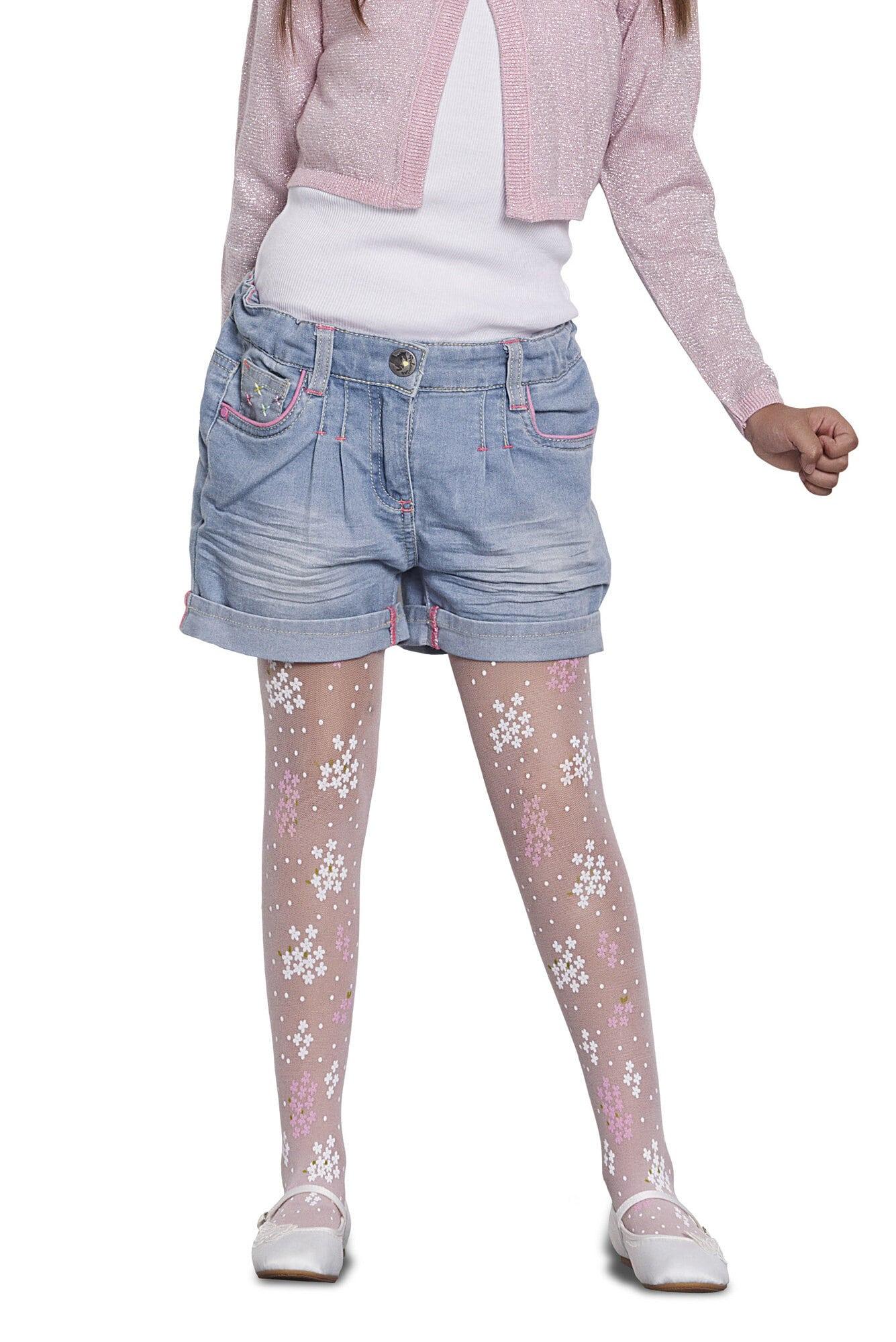 پنتی | Penti - جوراب شلواری طرحدار دخترانه پنتی Teresa سفید