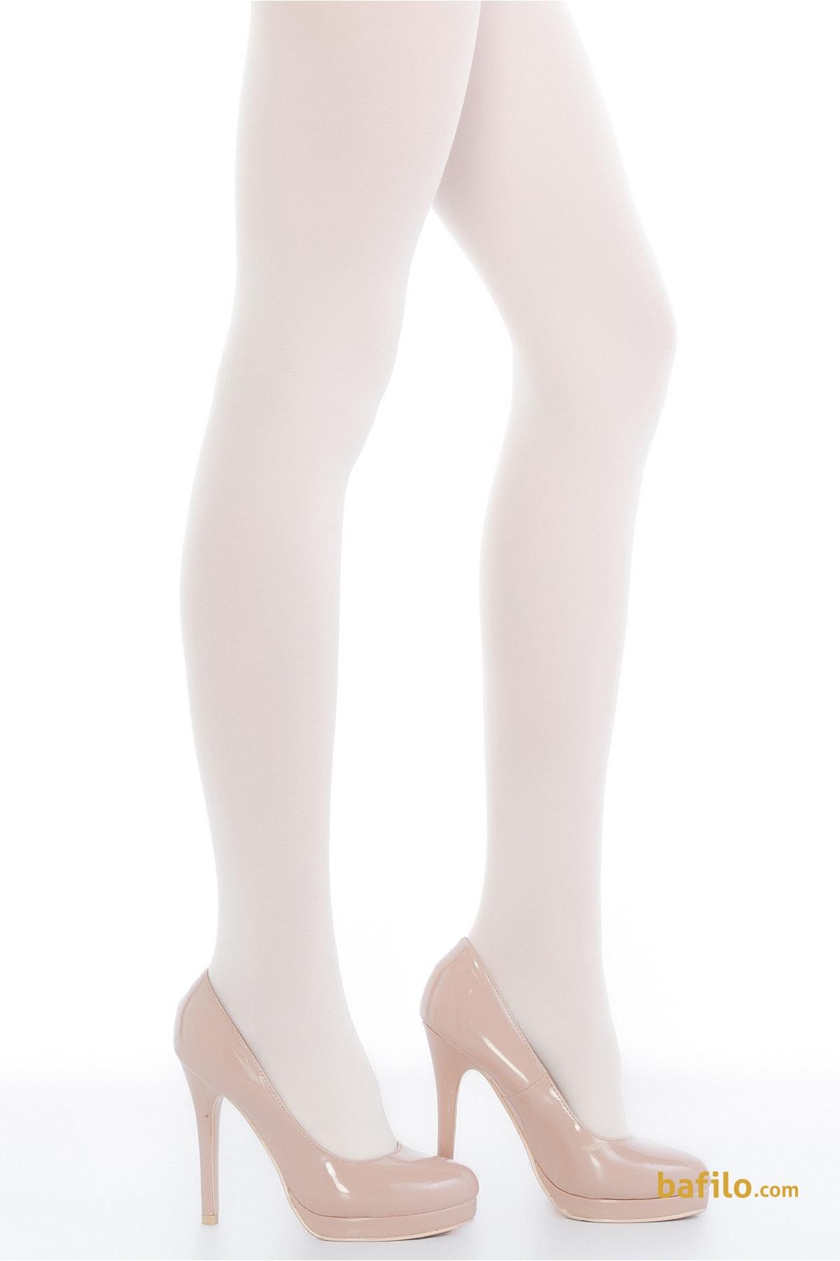 پنتی | Penti - جوراب شلواری براق زنانه پنتی Wet Look 120 - سفید