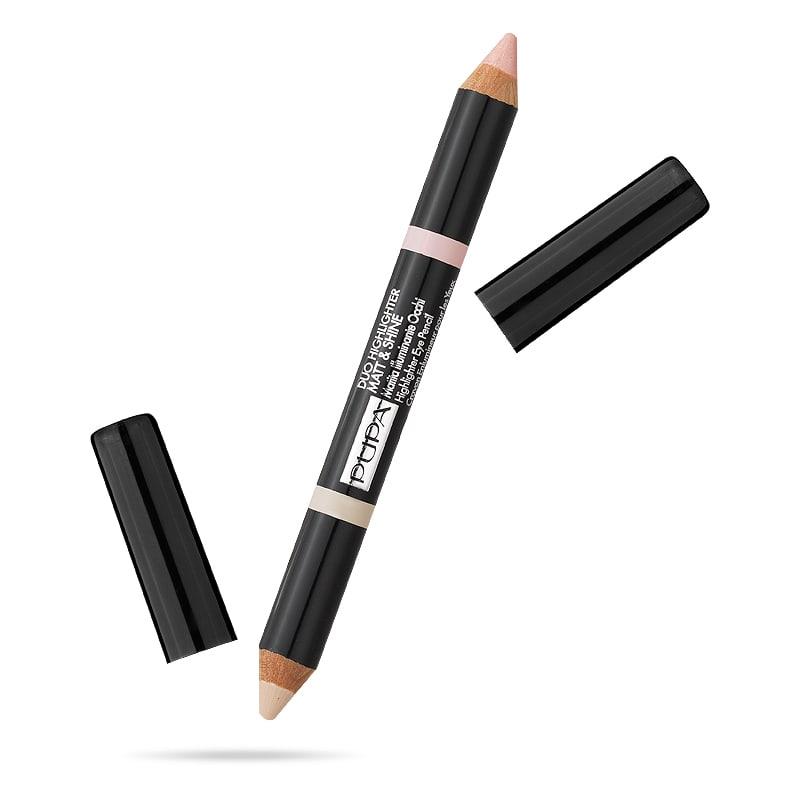پوپا | PUPA - مداد هایلایت کننده ابرو پوپا Duo Highlighter Matt & Shine 001