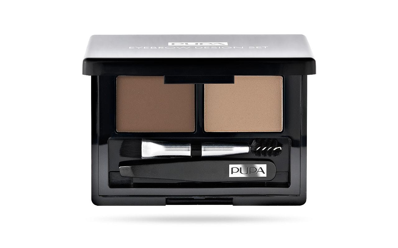 پوپا | PUPA - ست سایه ابرو حرفهای پوپا Eyebrow Design Set 01