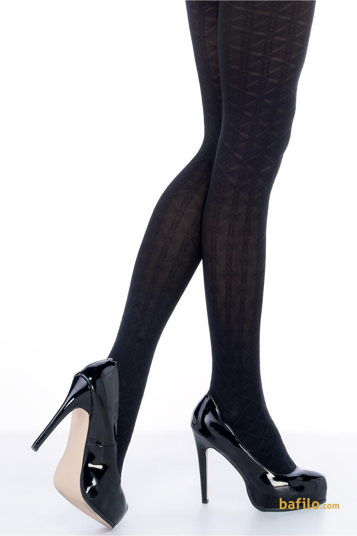 پنتی | Penti - جوراب شلواری طرح دار زنانه پنتی  Lola مشکی