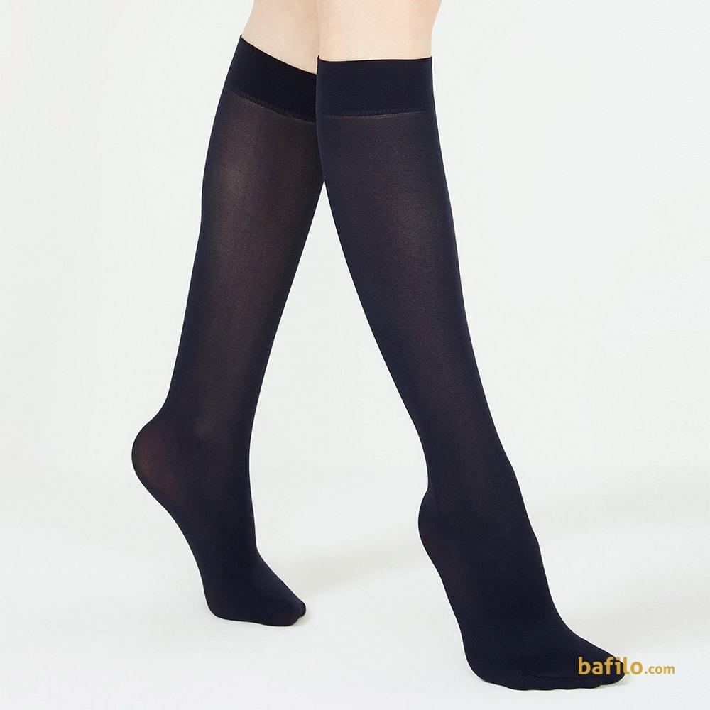 پنتی | Penti - جوراب زیر زانو زنانه پنتی  Mikro 40 سرمه ای