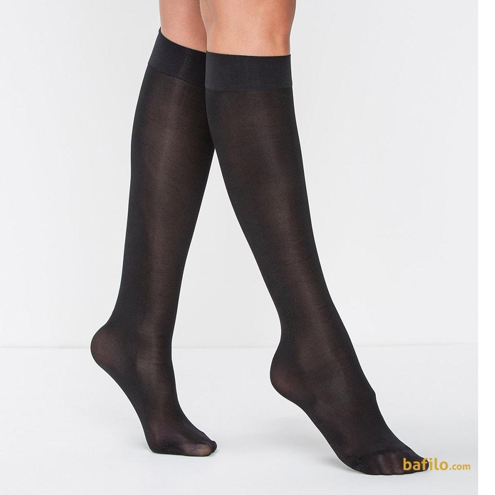 جوراب زیر زانو زنانه پنتی  Mikro 70 مشکی  
