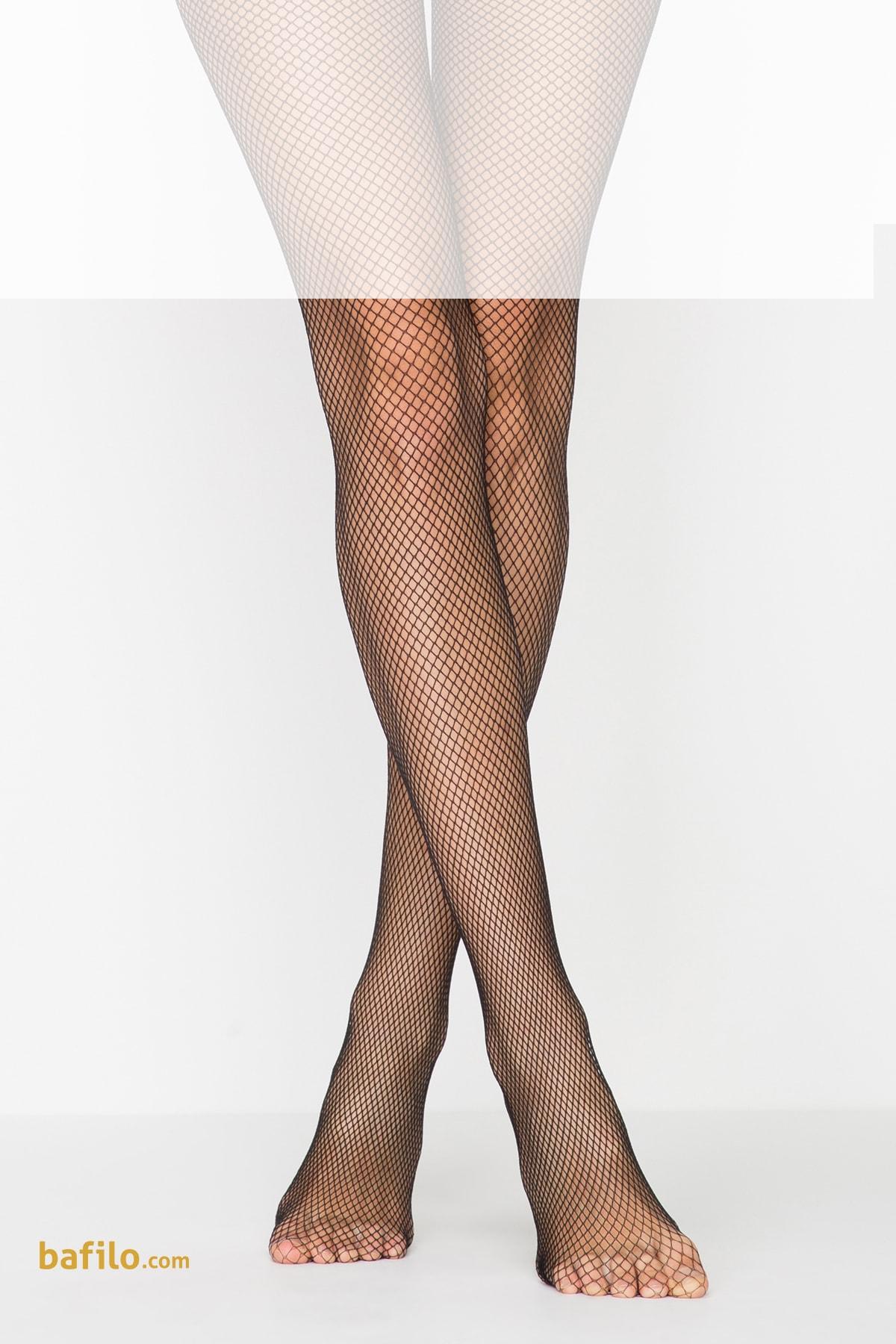پنتی | Penti - جوراب شلواری لانه زنبوری ریز زنانه رنگ مشکی