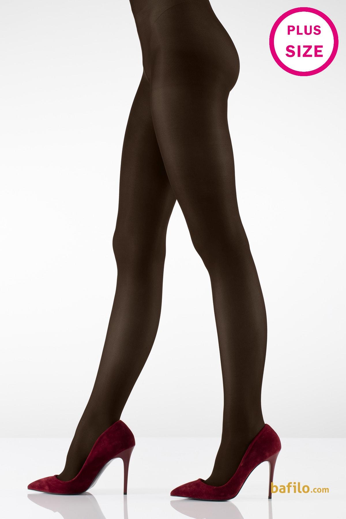 ایتالیانا   ITALIANA - جوراب شلواری سایز بزرگ زنانه ایتالیانا  Micro40 قهوه ای