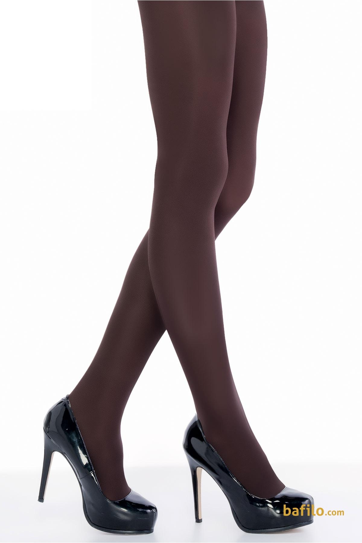 پنتی | Penti - جوراب شلواری ضخیم زنانه پنتی Mikro 100 قهوه ای سوخته