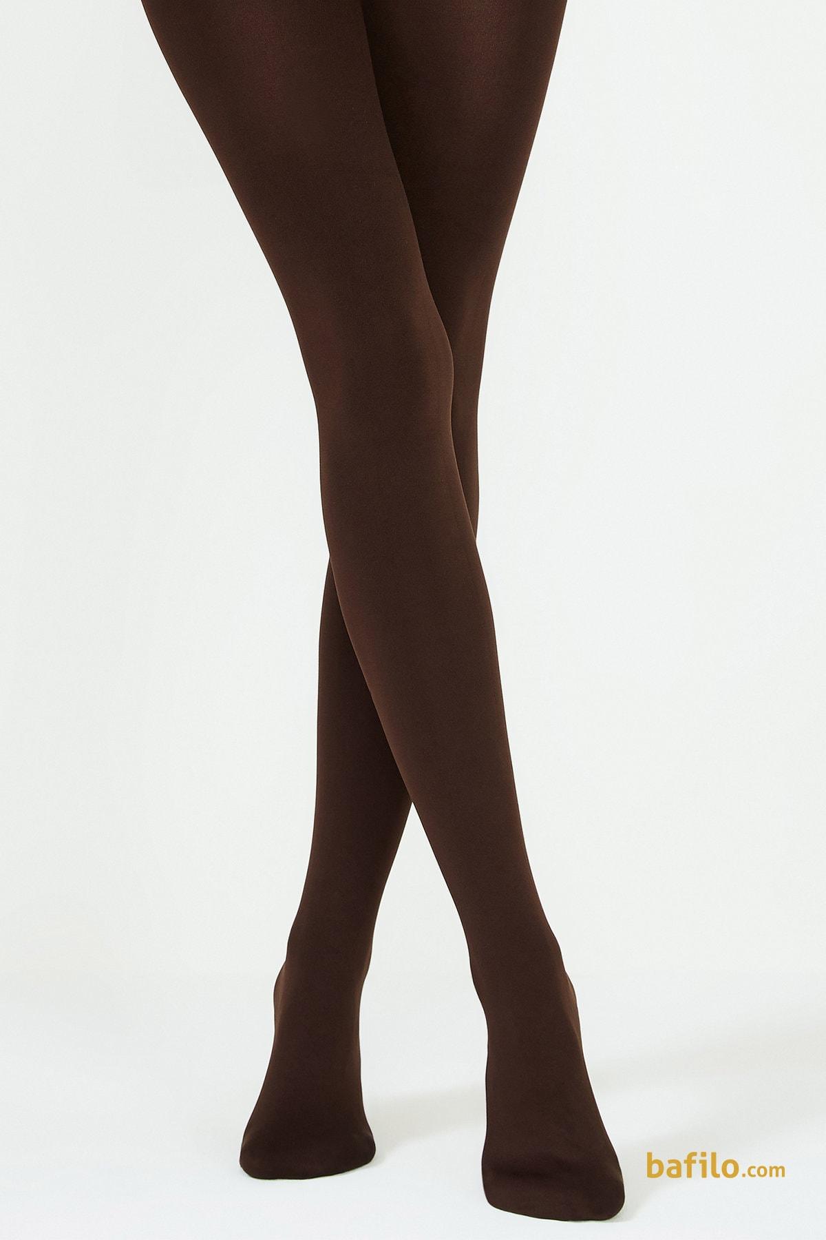 پنتی | Penti - جوراب شلواری ضخیم زنانه پنتی  Mikro 200 قهوه ای سوخته