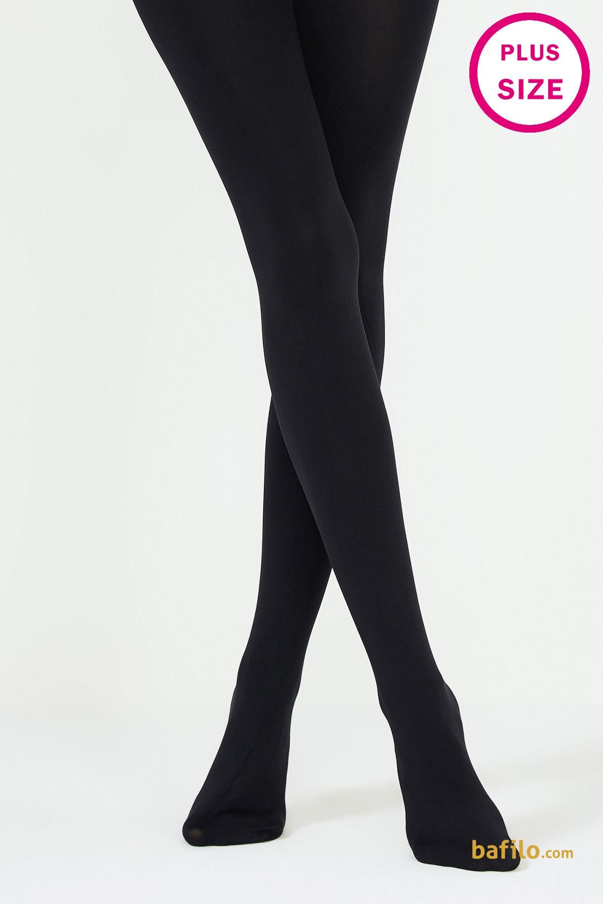 پنتی | Penti - جوراب شلواری سایز بزرگ ضخیم پنتی  Mikro 200 مشکی
