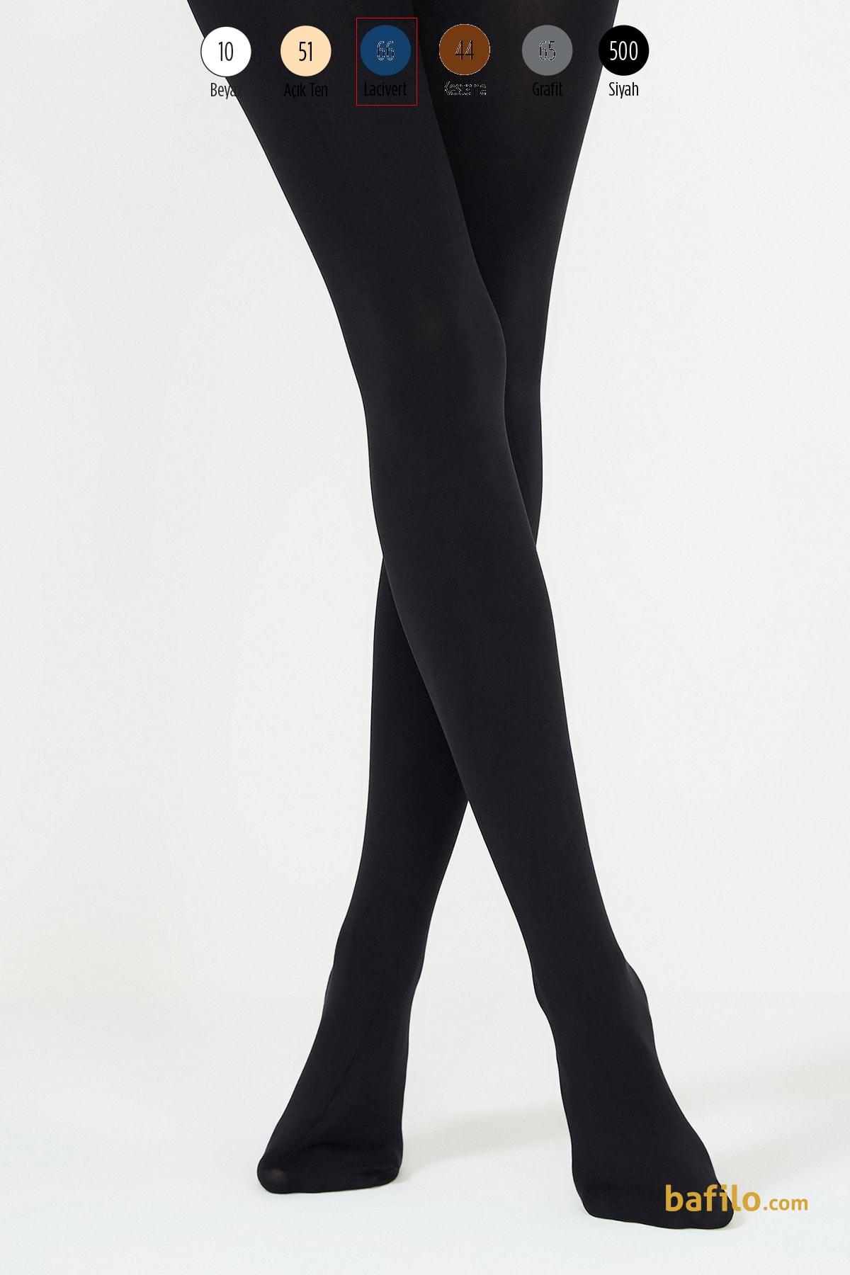 پنتی | Penti - جوراب شلواری ضخیم زنانه پنتی  Mikro 200 سرمه ای