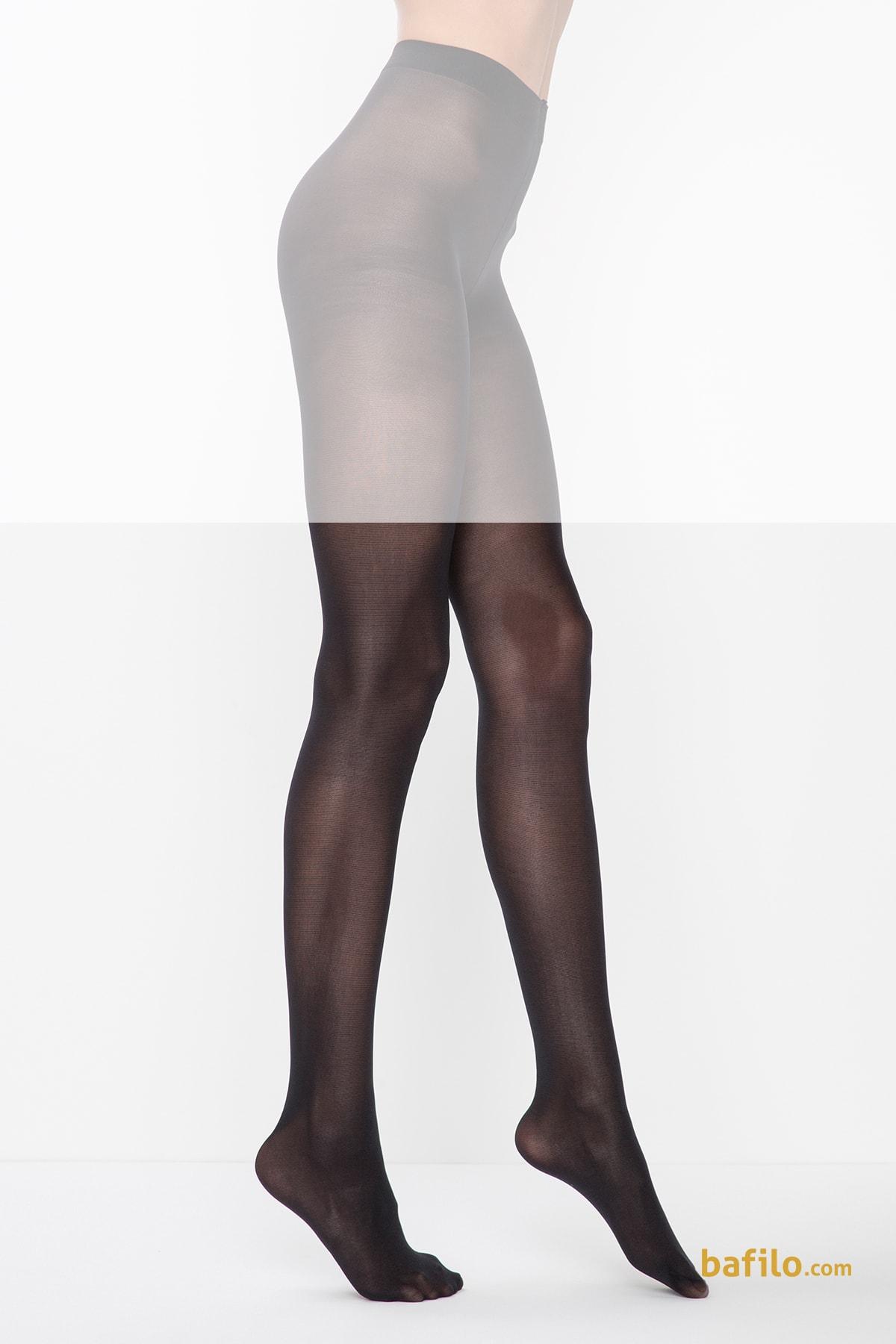 جوراب شلواری زنانه پنتی Mikro 40 مشکی - Thumbnail