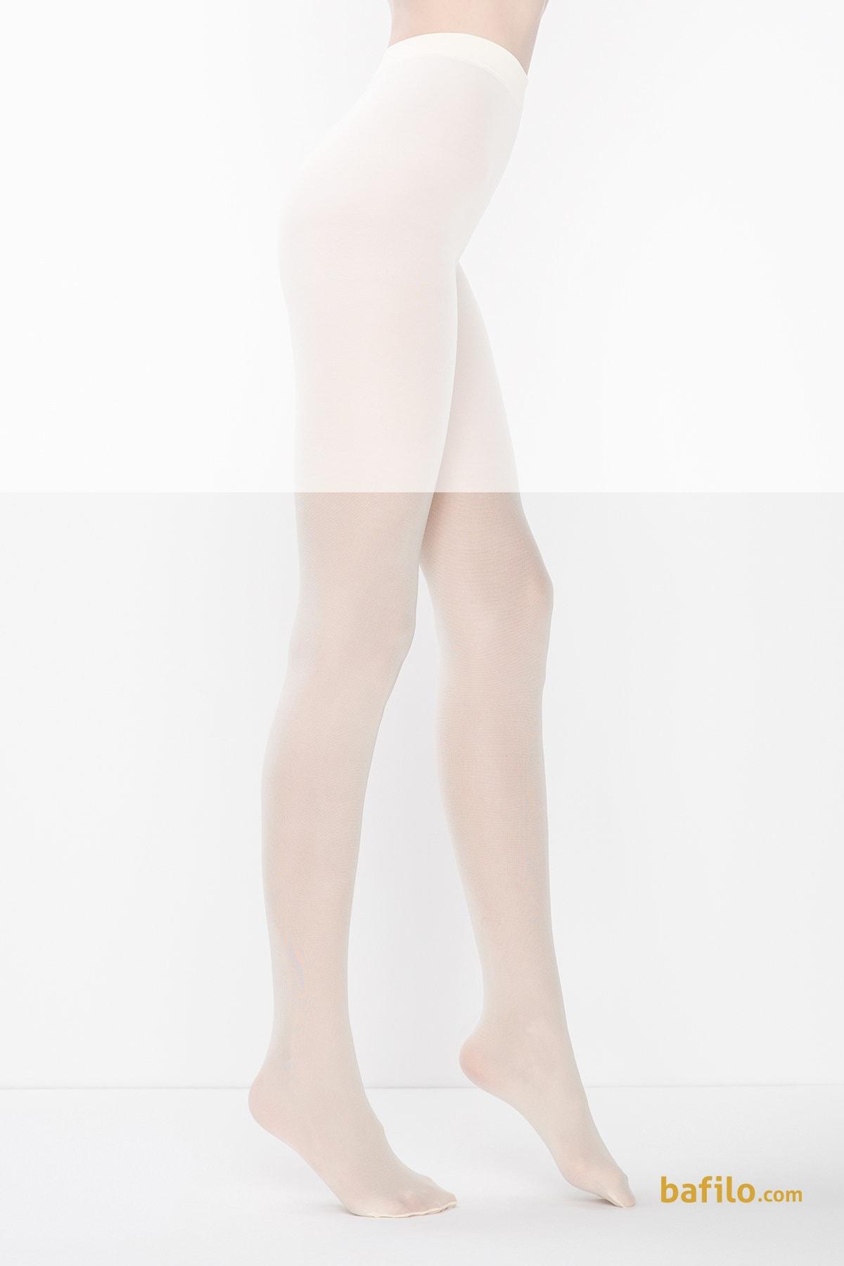 جوراب شلواری زنانه پنتی Mikro 40 وانیلی - Thumbnail