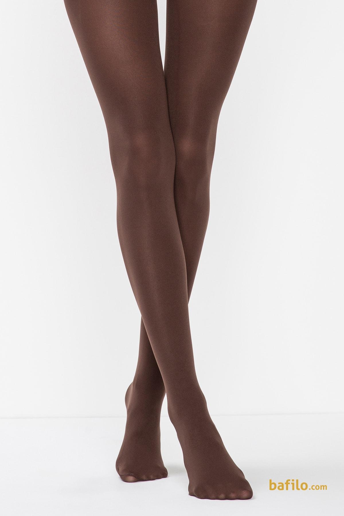 پنتی | Penti - جوراب شلواری زنانه پنتی Mikro 80 قهوه ای سوخته