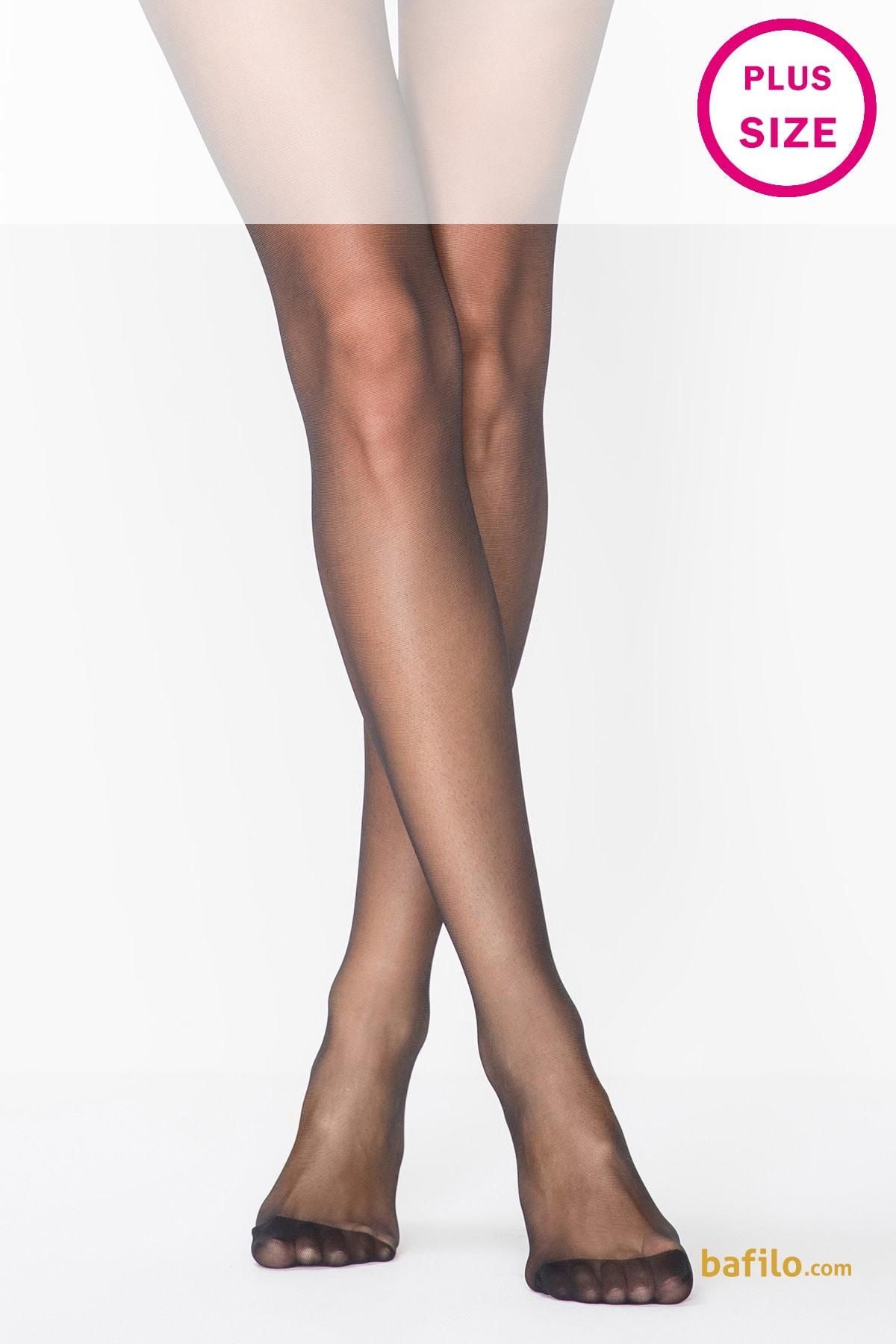 پنتی | Penti - جوراب شلواری سایز بزرگ نازک پنتی  Comfort Plus مشکی