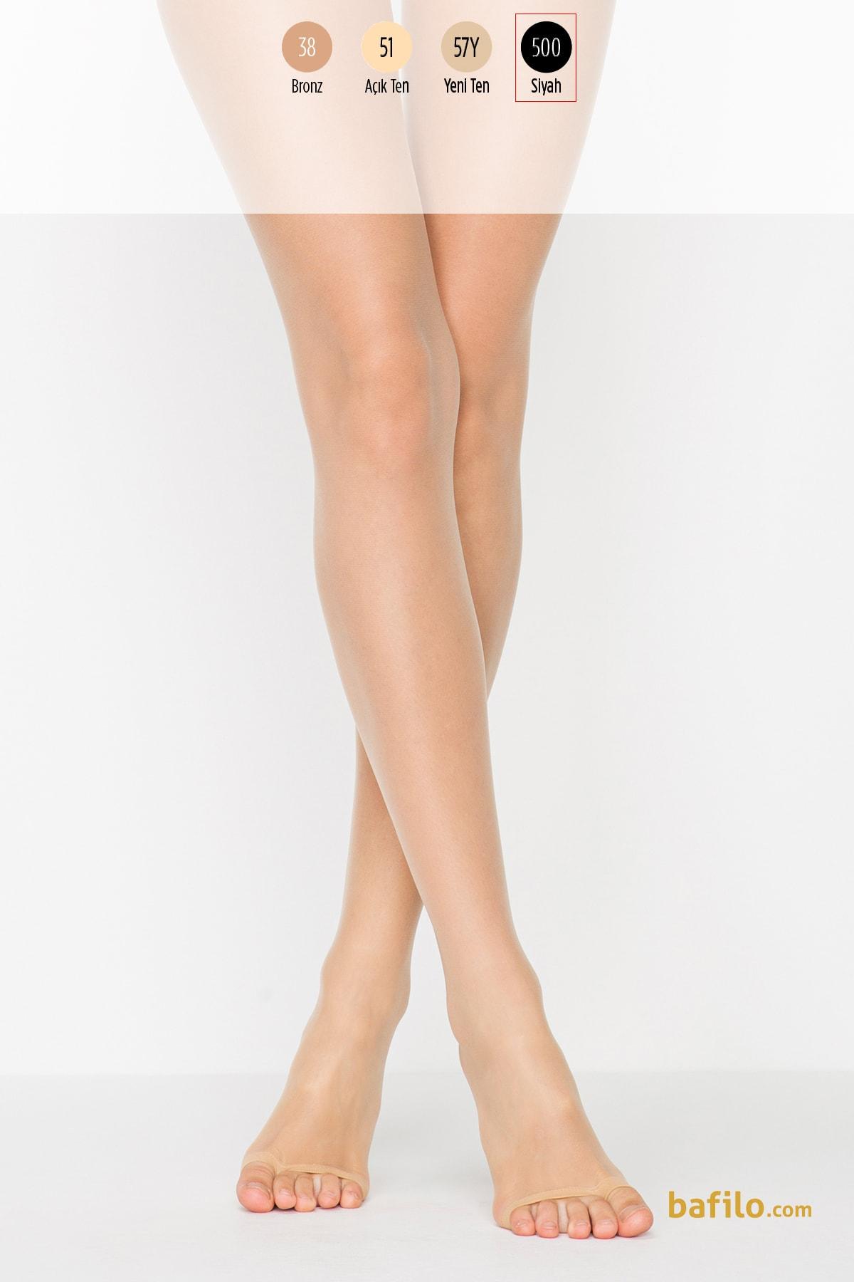 پنتی | Penti - جوراب شلواری دکلته زنانه پنتی Dekolte مشکی