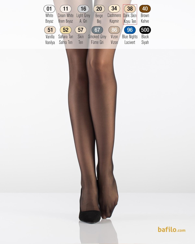 ایتالیانا | ITALIANA - جوراب شلواری نازک زنانه ایتالیانا Fit 15 Burunsuz برنز