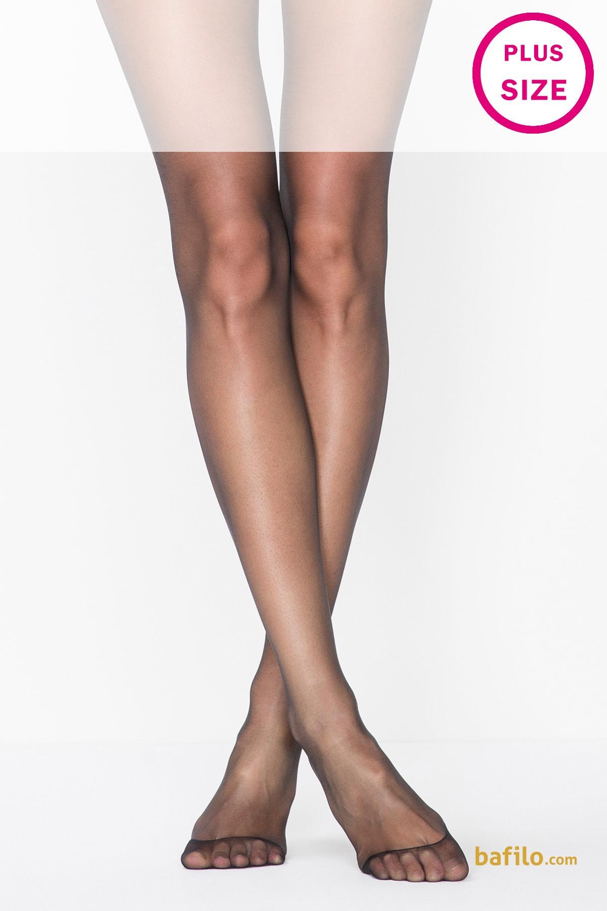 پنتی | Penti - جوراب شلواری نازک سایز بزرگ زنانه پنتی  Fit 15 مشکی
