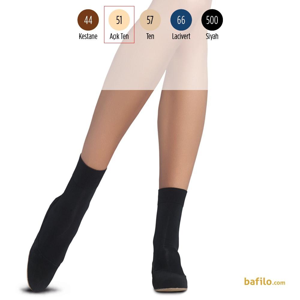 پنتی | Penti - جوراب مچی زنانه پنتی  Mikro 70 رنگ بدن روشن